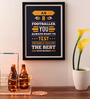 Lab No.4 - The Quotography Department Paper & PU Frame 13 x 0.7 x 17.5 Inch Dream Big Business Quotes Framed Poster