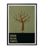Lab No.4 - The Quotography Department Paper & PU Frame 13 x 1 x 17.5 Inch Grow Or Die, Simple Business Quote Framed Poster
