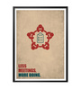 Lab No.4 - The Quotography Department Paper & PU Frame 13 x 1 x 17.5 Inch Less Meetings, More Doing Business Quote Framed Poster
