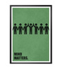 Lab No.4 - The Quotography Department Paper & PU Frame 13 x 1 x 17.5 Inch Mind Matters Business Quote Framed Poster
