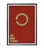 Lab No.4 - The Quotography Department Paper & PU Frame 13 x 1 x 17.5 Inch Try New Things Business Quote Framed Poster