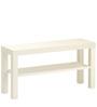 Lack Bench in White Colour by Tezerac