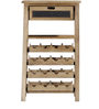 Lacnor Wine Rack in Natural Finish by Bohemiana