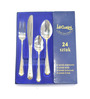 Lacuzini Trendy Gold Stainless Steel 24-piece Cutlery Set
