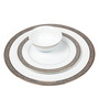 Lakline Porcelain Dinner Set - Set of 18