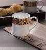 Lakline White Porcelain Mug - Set of 2