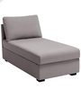 Lalbion Lounger Sofa in Black Colour by Madesos