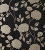 Lalco Interiors Brown & Peach High Quality Vinyl Paper Peony Wallpaper