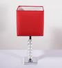 Lalco Interiors charles light Red Hand Made Paper Table Lamp
