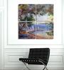 Hashtag Decor Landscape of Cote Aluminum 17.75 x 17.75 Inch Framed Art Panel