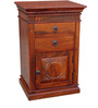 Godefroy End table in Honey Oak Finish by Amberville