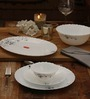 La Opala Diva Mystrio Black Opalware Dinner Set - Set of 27