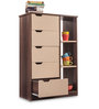 Chest of Drawers in Beige & Brown Colour by Durian