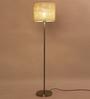 Adria Floor Lamp in Cream by CasaCraft