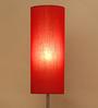 Castello Floor Lamp in Red by CasaCraft