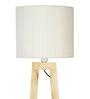 Carina Floor Lamp in Off White by CasaCraft