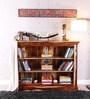 Cromwell Book Shelf in Natural Sheesham Finish by Amberville