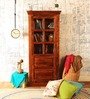 Egbert Classic book case in Provincial Teak Finish by Amberville