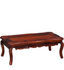 Leeming Coffee Table in Honey Oak Finish by Amberville