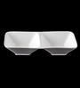 Lazzaro Gambol White Porcelain Dip Plate