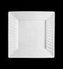 Lazzaro Ocean Blue White Porcelain Quarter Plate - Set of 4