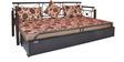 Leisure Sofa Cum Bed with Storage by FurnitureKraft