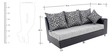 Lemson RHS Three Seater Sofa Set and Divan by Looking Good Furniture