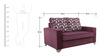 Lexus Sofa Set Purple 2+1+1 in Purple Color by Arra