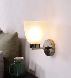 LeArc Designer Lighting Antique Gold Mild Steel Upward Wall Light