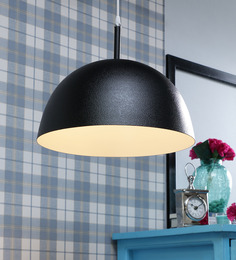 LeArc Designer Lighting Black & Grey Aluminium Pendant