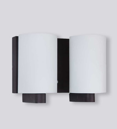 LeArc Designer Lighting Contemporary Glass Metal Wood Wall Light WL1478