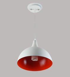 Learc Designer Lighting Hl3725 White Aluminium Pendant