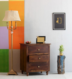 Wynne Luis Chest of Drawers in Provincial Teak Finish by Amberville