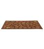 Leaf Wool Area Rug Brown by Riva
