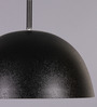 LeArc Designer Lighting Black & Pink Aluminium Pendant