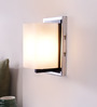 LeArc Designer Lighting Chrome Mild Steel Upward Wall Light