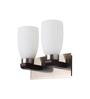 LeArc Designer Lighting WL1422 Upward 2 Shades Wall Mounted Light