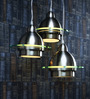Learc Designer Lighting Satin & Nickel Aluminium Pendant