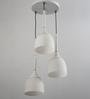 Learc Designer Lighting White Mild Steel Hl3687-3 Pendant