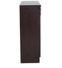 Leather Finish Shoe Rack in Brown Colour by Penache Furnishing