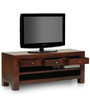 Leeds TV Unit in Mahogany Finish by The ArmChair