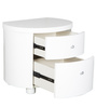 Legend Bedside Table in White Colour by HomeTown
