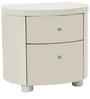 Legend High Gloss Night Stand in Beige Finish by HomeTown