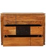 Leopold Chest of Drawers in Walnut & Black Colour by HomeTown
