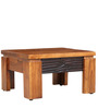 Leopold Coffee Table in Walnut & Black Colour by HomeTown