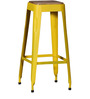 Mehia Bar Stool in Yellow Colour by Bohemiana