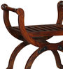 Levien Chair in Honey Oak Finish by Amberville