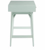 Lewis Mid Century Mini Study Table in Light Blue Colour by Asian Arts