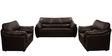 Lily Sofa Set in Dark Brown Color by Comfort Couch