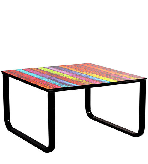 Living World Centre Table Digiprint in Multicolor by Home Stop